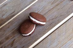 Gezonde chocolade macarons