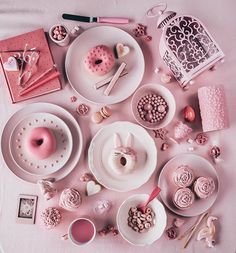 Spent the morning making pink treats with 🎀 // Hehe hope the pink isn't hurting your eyes! 🤣 Wishing you all a very happy Valentine's Day! Cute Food, Yummy Food, Pink Treats, Pink Texture, Everything Pink, High Tea, Food Photography, Photography Magazine, Product Photography