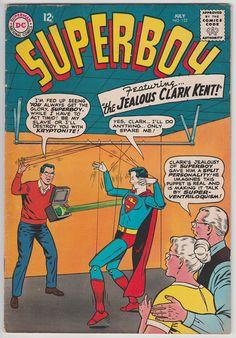 Superboy July, #122, Split personality!
