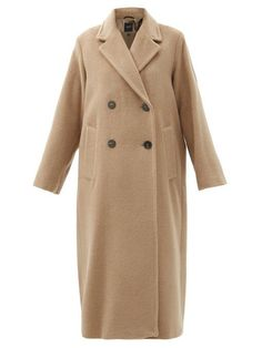 Weekend Max Mara Parma Coat Max Mara, Wardrobe Fails, Belted Coat, Tweed Jacket, Wool Coat, Coats For Women, Wool Blend, Double Breasted, Autumn Fashion