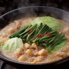 Motsunabe is a kind of Japanese cuisine, which is made from BEEF or PORK offal.