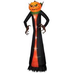 Halloween Airblown Inflatable Pumpkin Reaper 12 Ft Tall Outdoor Yard Decoration #HalloweenAirblownInflatablePumpkinReaper #Halloween Pumpkin Reaper, Inflatable Pumpkin, Yard, Halloween, Decoration, Outdoor Decor, Yard Decorations, Decor, Patio