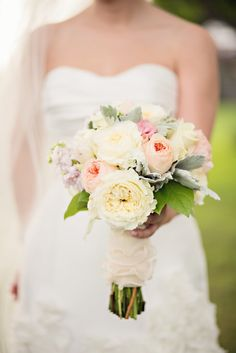 Muted Pastel Bridal Bouquet | Vicki + Erik Photographers https://www.theknot.com/marketplace/vicki-+-erik-photographers-greenwich-ct-248138 | The Inn At Longshore By OnTheMarc https://www.theknot.com/marketplace/the-inn-at-longshore-by-onthemarc-westport-ct-344973 | Just For You https://www.theknot.com/marketplace/just-for-you-middlefield-ct-234309