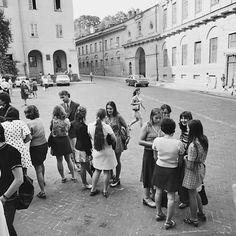 """""""Na Praça da Universidade"""", de Antanas Sutkus"""