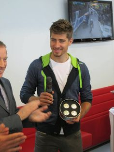 Peter Sagan I love his hair all fluffy and nuts