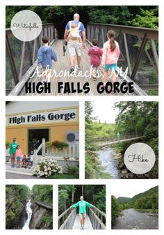 High Falls Gorge Lake Placid NY: Outdoor activities the entire family will love in Lake Placid, NY.