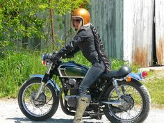 Image result for 1972 honda cb350 with fork dust boots