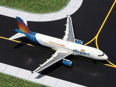 GEMINI JETS GJ1325 ALLEGIANT A320 1/400 REG#N217NV AIRCRAFT AIRPLANE #GeminiJets1400 #Allegiant