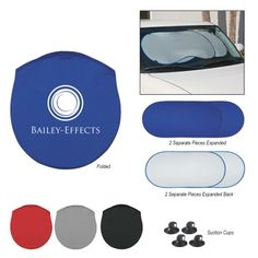 #7037 Collapsible Automobile Sun Shade Made of Nylon, Silver Coated Material Two Separate Panels, Each With Elastic Strap For Secure Storage Matching Pouch Four Rubber Suction Cups To Help Hold In Place Made In The USA Meets FDA Requirements Hand Wash Recommended 50	        100	         250	         500	        1000	 $8.73	$7.59	$6.60	$5.74	$4.99
