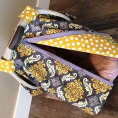 Car seat canopy FREE shipping code TODAY by SooShabbyChic on Etsy, $38.99