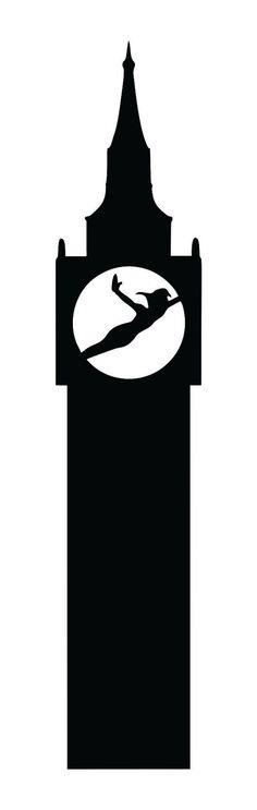 Peter Pan Silhouette Design Stencil Macbook New Vinyl Decal Sticker Decor on Etsy, $3.00