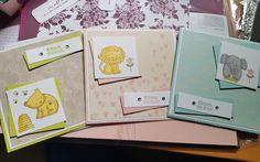 Babykarten mit Stampin'up!  @ Ute Lamprecht Up