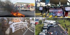 Protestas contra incremento a gasolina se extienden por todo el país