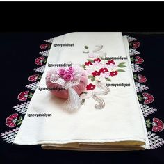 Needle Lace, Baby Knitting Patterns, Napkins, Instagram, Dinner Napkins, Point Lace