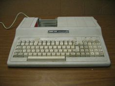 this was my very first computer, lol Tandy 1000ex, love it