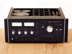 SANSUI AU-20000  (1975-77) The Sansui AU-20000 is an integrated stereo amplifier delivering a continuous 170 watts, minimum RMS, per channel, both channels driven into 8 ohms, over 20 to 20KHz...