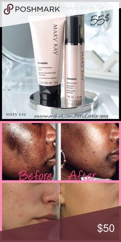 Mary Kay Microdermabrasion Plus Set Get the look of polished, younger skin and significantly smaller pores with this two-step system!!💕 Mary Kay Other