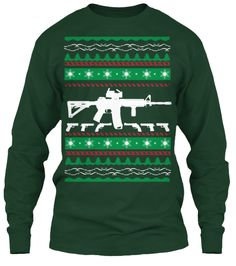 AR-15 Ugly Christmas Sweater | Teespring