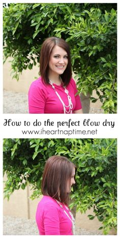Learn how to do the perfect blow dry! I wish I had time for this every day, but I do love to sleep in!