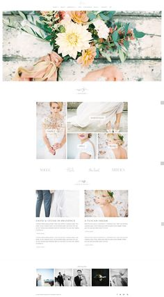 The beautiful Flora Divi child theme for Wordpress designed by The Design Space. Perfect for photographers. Web Design Color, Website Design Layout, Website Design Inspiration, Layout Design, Website Color Palette, Website Color Schemes, Colour Schemes, Colour Palettes, Design Development