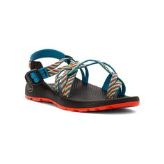 Chaco ZX/2 Classic ($105) ❤ liked on Polyvore featuring shoes, sandals, fiesta, polyurethane shoes, double strap sandals, buckle sandals, chaco and chaco footwear