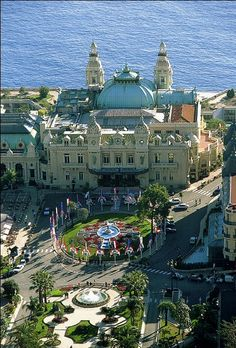 Hotel de Paris, Monte Carlo, Monaco. Soo wanna go here my favorite movie was filmed at this hotel
