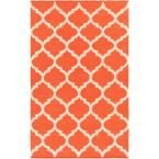 Vogue Everly Coral (Pink) 2 ft. x 3 ft. Indoor Accent Rug