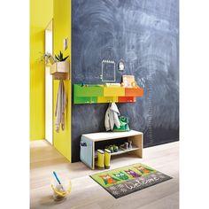 schuhschrank f r kleine kinderschuhe kinder garderobe aus einem heurechen selbst gemacht in. Black Bedroom Furniture Sets. Home Design Ideas