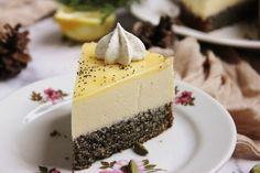 Mákos-citromhabos torta | Ízből tíz Cake Recipes, Cheesecake, Pie, Pudding, Food, Poppy, Buddha, December, Cakes