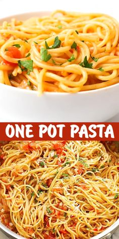 one pan dinners chicken One Pan Pasta - 10 minutes pasta made in one pan. Throw all the ingredients in the pan and dinner is ready for the entire family Pasta Side Dishes, Pasta Sides, Bolognese, One Pot Meals, Easy Meals, One Pan Pasta, Vegetarian Recipes, Cooking Recipes, One Pan Dinner