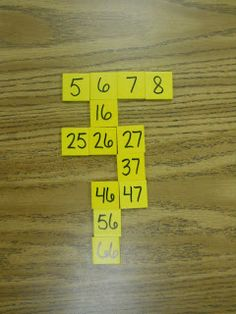 Mrs. T's First Grade Class: Math number puzzles with blocks - use all the blocks in your baggie to make the puzzle  ***a great site for tons of math ideas - check it out