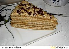 Medovník - Marlenka recept - TopRecepty.cz Tiramisu, Pancakes, French Toast, Cooking Recipes, Breakfast, Ethnic Recipes, Food, Anna, Basket