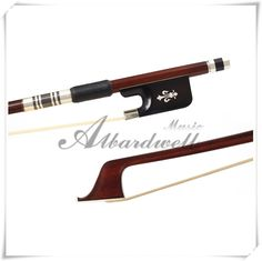 Light weight IPE Cello Bow Fleur-de-lys Inlaid Frog