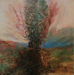 Original Paintings, Original Art, Acrylic Paintings, Burning Bush, Realism Art, Stork, Abstract Expressionism, Wood Art, Buy Art
