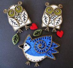 Felt/Zipper crafts