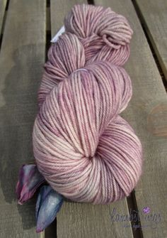 Ewetopia DK 3.4 oz Hand dyed yarn Superwash Merino by lambstrings