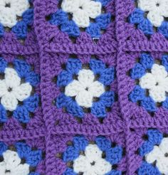 patty's granny square - Alzheimer's fundraiser and CAL