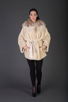 Hey, I found this really awesome Etsy listing at https://www.etsy.com/listing/474460970/luxury-giftbeige-beaver-fur-coatfur
