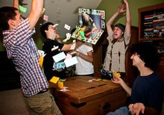People Playing Board Games : Photo