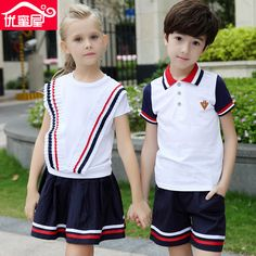 Children of Primary and Middle School Uniform School Chorus British School Uniforms Clothing and Long Sleeved Recitation British School Uniform, School Uniform Fashion, School Uniforms, Baby Boy Outfits, Kids Outfits, Cute Girl Dresses, Kindergarten, Korea, Outfit Sets