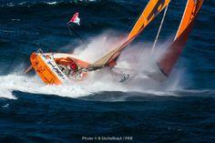 IMOCA 60' PRB - Skipper : Vincent RIOU - Vendée Globe 2016-17 - Port La Forêt 28/03/2016