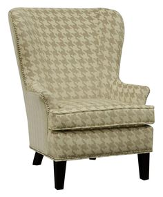England Smith Living Room Arm Chair with Wing Style with Nailheads - Colder's Furniture and Appliance - Wing Chair Milwaukee, West Allis, Oak Creek, Delafield, Grafton, and Waukesha, WI