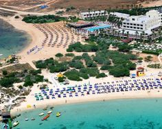 Makronissos Beach in the Ayia Napa region of Cyprus