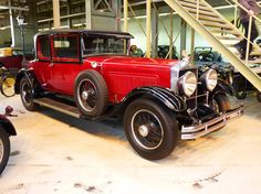 Minerva Type AL 1930. Minerva was a luxury Belgian automobile manufacturer  from 1902 until 1938.