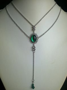 NECKLACE Victorian/Medieval/Ren/Celtic/Goth/Wedding/Edwardian/Christmas/Holidays/ COLOR CHOICE