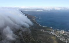 table mountain cloud cape town south africa hd widescreen backgrounds