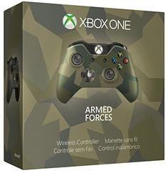 Xbox One Special Edition Armed Forces Wireless Controller, 2015 Amazon Top Rated Controllers #VideoGames