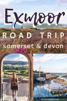 One Day in Exmoor National Park & A Road Trip Itinerary You'll Want to Steal! Porlock Weir Selworthy Exford Tarr Steps & more Exmoor attractions! Somerset England, Devon England, Oxford England, London England, Cornwall England, Devonshire England, Devon Uk, Uk Destinations, Excursion