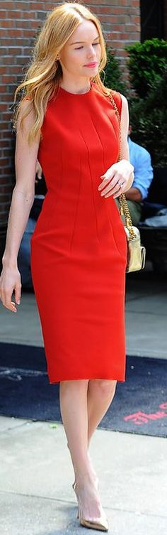 Kate Bosworth in Red Lanvin Dress and Gianvito Rossi heels - http://sulia.com/channel/fashion/f/37244be2-5f9b-44bd-9f42-ecdbbbe5729d/?source=pin&action=share&ux=mono&btn=small&form_factor=desktop&sharer_id=125430493&is_sharer_author=true&pinner=125430493