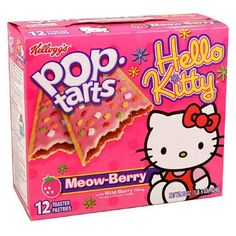 hello kitty pop | Hello Kitty Poptarts, Never go the grocery store high.